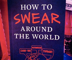 Swearing Around The World Book