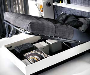 Hydraulic Storage Bed