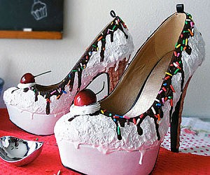 Ice Cream Sundae High Heels