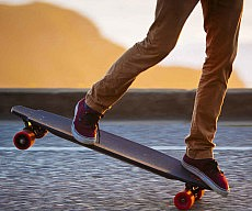 In Wheel Motorized Skateboard