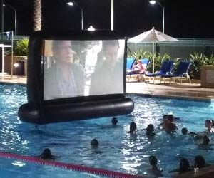 Inflatable Floating Movie Screen