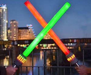 Interactive Light Up Foam Swords