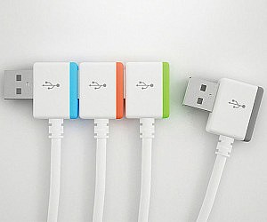 Infinitely Interlocking USB Cables