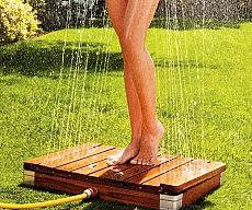 Inverted Outdoor Shower