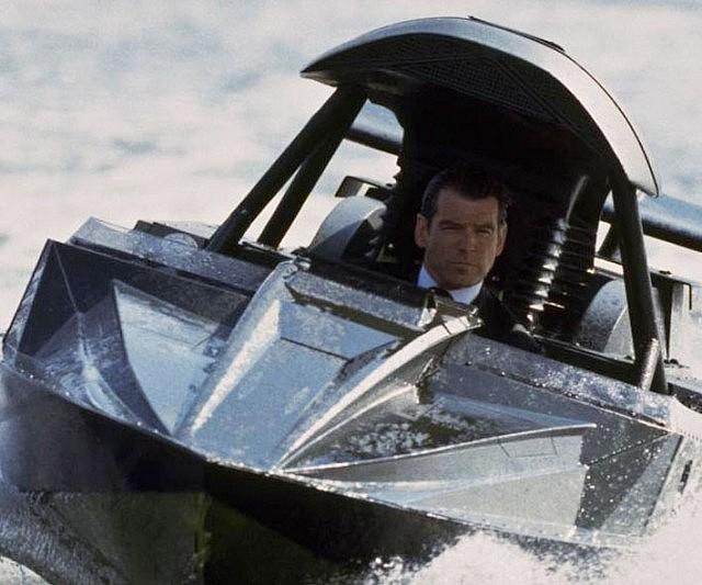 James Bond Q Boat