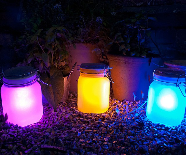 Solar Jar Lamps