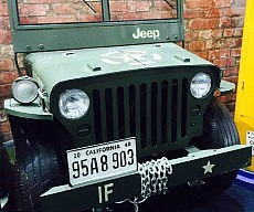 Jeep Storage Trunk Chest