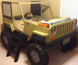 Jeep Wrangler Bed Template