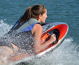 Electric Jet Propelled Bodyboard