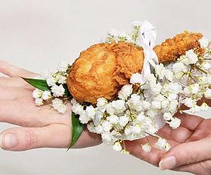 KFC Chicken Drumstick Corsage