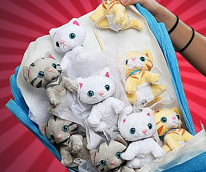 kitten-bouquet-plush