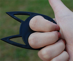 Cat Ears Self Defense Keychain