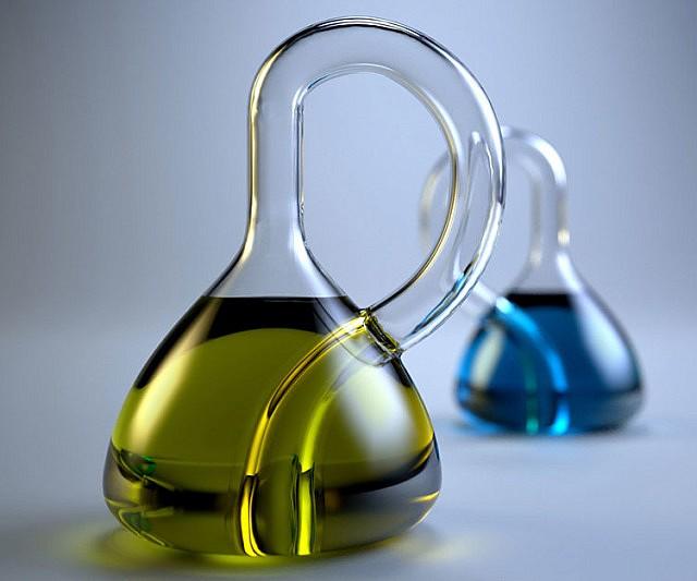 Klein Glass Bottle
