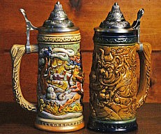 Krampus Beer Stein