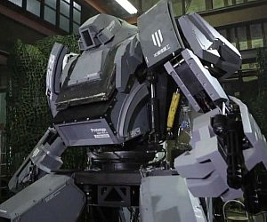 Life Size Japanese Mechwarrior