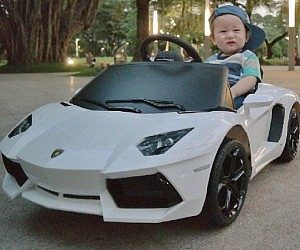 Lamborghini Aventador Ride On Car