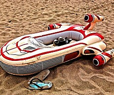 Landspeeder Inflatable Float