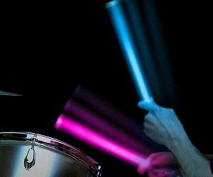 Color Changing LED Drumsticks
