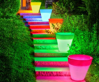 led-planter-pot