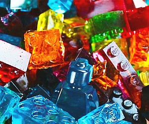 LEGO Gummy Candy Molds