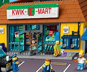The Simpsons LEGO Kwik-E-Mart