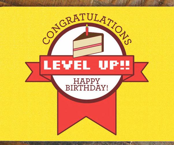 level-up-birthday-card