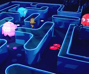 Life Size Pac-Man Game