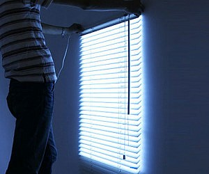 Light Simulating Blinds