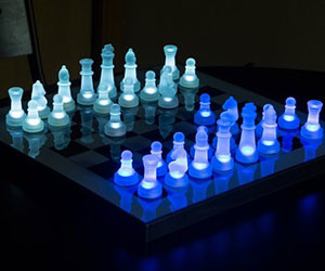 Light Up Chess Set
