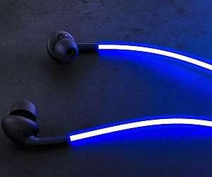 Laser Light Headphones