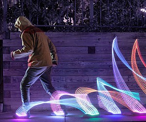 LED Shoe Light System