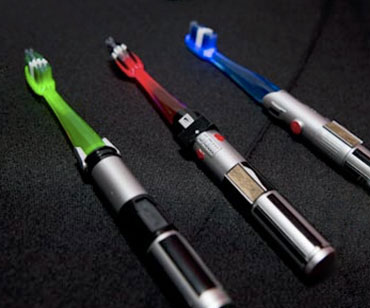 Lightsaber Toothbrush