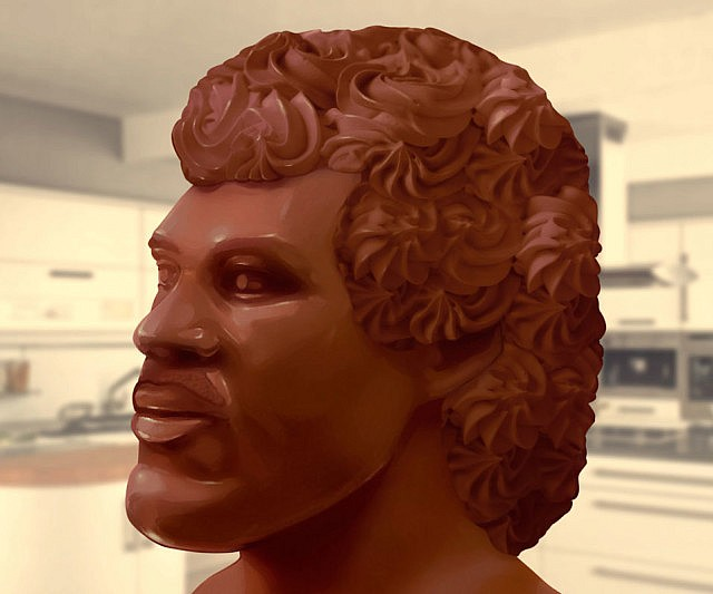 Lionel Ritchie Chocolate Head