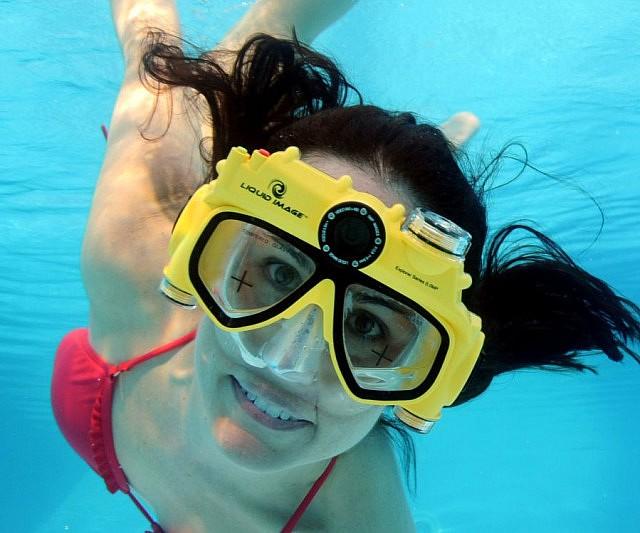 Camera Snorkel Mask