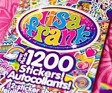 Lisa Frank Collector's Set Sticker Book
