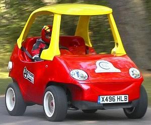 Street Legal Little Tikes Car