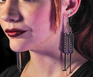Lock Pick Earrings