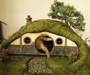 Hobbit Litter Box