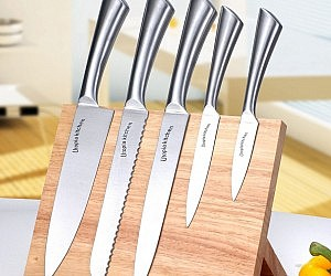 Magnetic Knife Block Set