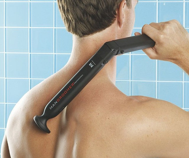 DIY Back Shaver