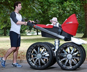 The Manliest Stroller Ever Made