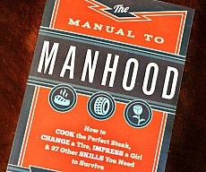 The Manual To Manhood Book