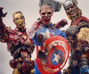 Marvel Superhero Zombies