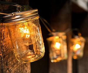 Mason Jar String Lights