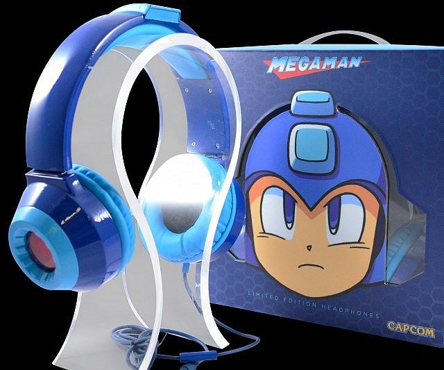 Mega Man LED Headphones