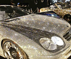 Crystal Covered Mercedes Benz SL600