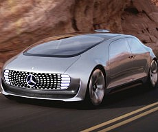Mercedes Benz Self Driving Car