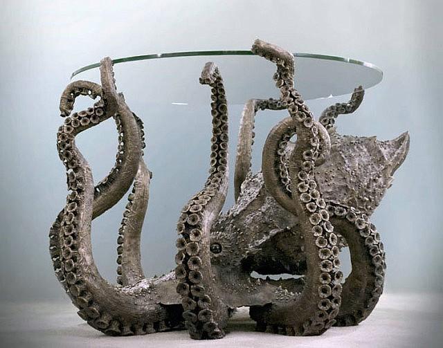Metal Octopus Table