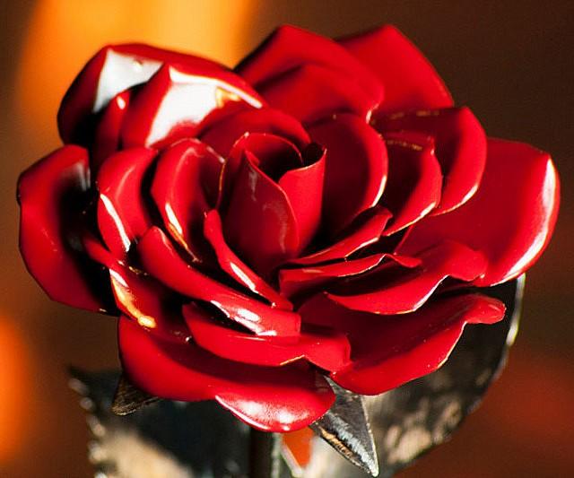 metallic-roses