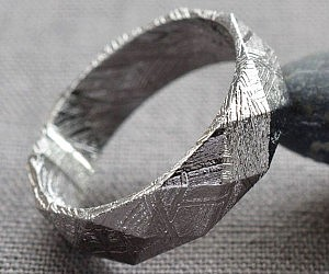 Meteorite Ring